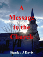 A Message to the Church