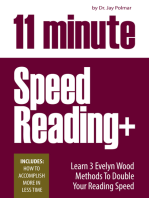 11 Minute Speed Reading Course + How To Accomplish More in Less Time