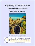 Exploring the Word of God The Conquest of Canaan