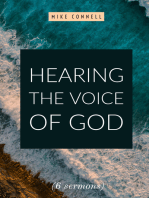 Hearing the Voice of God (6 sermons)