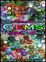 Sage's Little Book of Gemstones & Their Meanings