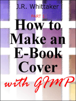How to Make an E-Book Cover with Gimp PART 1