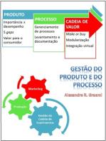 Gestão do produto e do processo