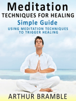 Meditation Techniques For Healing