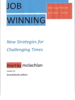 Job Winning- New Strategies for challenging times