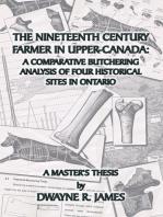 The Nineteenth Century Farmer In Upper-Canada