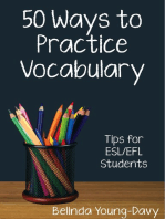 Fifty Ways to Practice Vocabulary