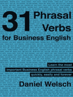 31 Phrasal Verbs for Business English