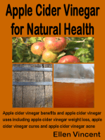 Apple Cider Vinegar for Natural Health