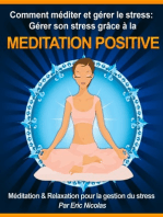 Comment méditer et gérer le stress