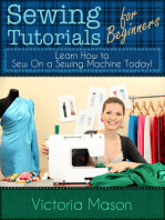 Sewing Tutorials for Beginners