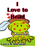 I Love to Read Lesson Plans
