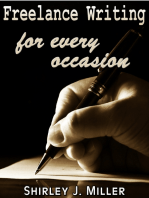 Freelance Writing For Every Occasion