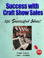 Success with Craft Show Sales