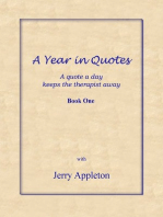 A Year in Quotes
