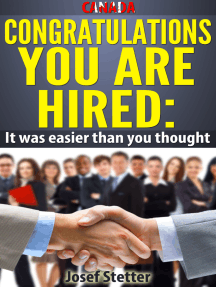 Canada, Congratulations You Are Hired: It was Easier than you thought