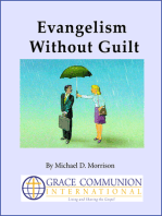 Evangelism Without Guilt