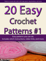 20 Easy Crochet Patterns Book 1