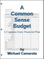 A Common Sense Budget