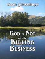 God is Not in the Killing Business