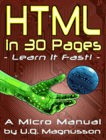HTML in 30 Pages