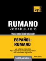 Vocabulario Español-Rumano