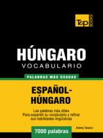 Vocabulario Español-Húngaro