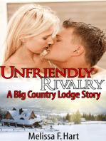 Unfriendly Rivalry (A Big Country Lodge Story, Book 3) (Erotic Romance - Holiday Romance)