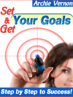 Set and Get Your Goals