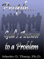 People...God's Answer to a Problem