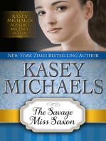 The Savage Miss Saxon
