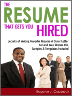 The Resume That Gets You Hired