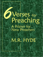 6 Verses for Preaching
