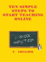 Ten Simple Steps to Start Teaching Online
