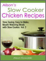 Alison's Slow Cooker Chicken Recipes