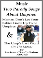 Two Parody Songs About Umpires