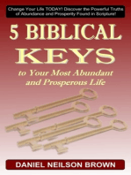 5 Biblical Keys to Your Most Abundant and Prosperous Life