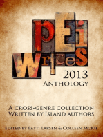 PEI Writes 2013 Anthology