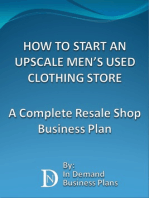 How To Start An Upscale Men's Used Clothing Store