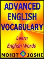 Advanced English Vocabulary: Learn English Words