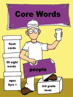Core Words- Third Grade