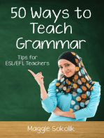 Fifty Ways to Teach Grammar