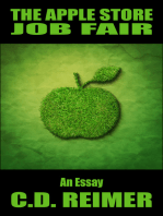 The Apple Store Job Fair (Essay)
