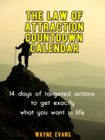 The Law of Attraction Countdown Calendar