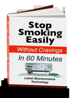 Stop Smoking Easily Without Cravings In 60 Minutes