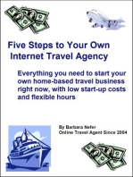 Five Steps to Your Own Internet Travel Agency
