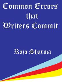 Common Errors that Writers Commit