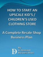 How To Start An Upscale Kid's / Children's Used Clothing Store