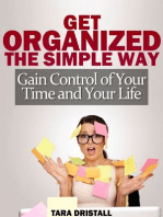 Get Organized the Simple Way