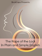 The Rape of the Lock In Plain and Simple English (Translated)